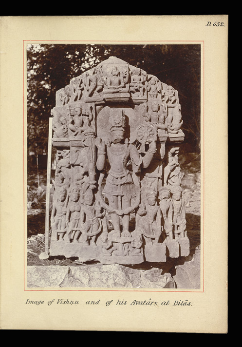 Image of Vishnu and of his Avatars at Bilas